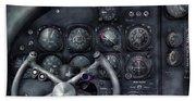 Air - The Cockpit Beach Towel