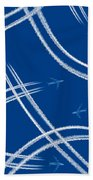 Airliners Gone Wild Beach Towel