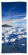Airplane Wing Beach Towel