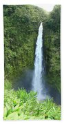 Akaka Falls Beach Towel