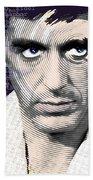 Al Pacino Again Beach Towel