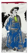 Al Seiber Chief Scout Indian Wars No Date 2013 Beach Towel