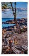 Ala Kahakai Path Beach Towel