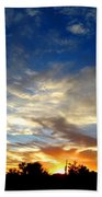 Alabaster Sky Beach Towel