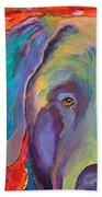 Aladdin Beach Towel by Pat Saunders-White