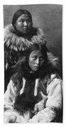 Alaska Eskimos, C1903 Beach Towel