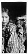 Alaska Eskimos, C1912 Beach Towel
