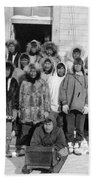 Alaska Eskimos, C1916 Beach Towel