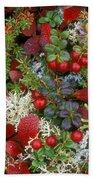 Alaskan Berries 2 Beach Towel