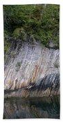 Alaskan Cliff Beach Towel