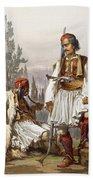 Albanians, 1865 Beach Towel