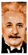 Albert Einstein 01 Beach Towel