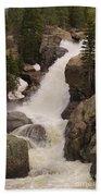 Alberta Falls Beach Towel