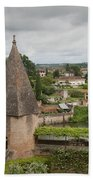 Albi France Arch Bishops Garden Beach Towel