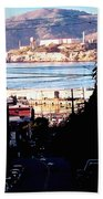 Alcatraz - So Close Yet So Far Beach Towel