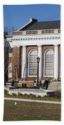 Alderman Library University Of Virginia Beach Towel