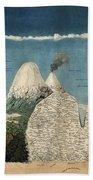Alexander Von Humboldts Chimborazo Map Beach Towel