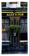 Alex's Pub Beach Towel
