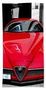 Alfa Romeo 1c Beach Towel