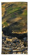 Alhama De Granada Volcanic Lands Beach Towel
