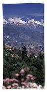 Alhambra View Beach Towel
