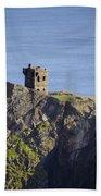 All Along The Watchtower - Bunglass Donegal Ireland Beach Towel