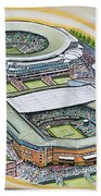 All England Lawn Tennis Club Beach Towel