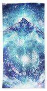All From Nothing We Became Something Beach Towel