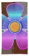 All In With Colors Beach Towel