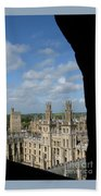 All Souls College And Beyond Beach Sheet