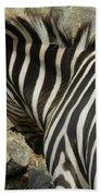 All Stripes Zebra 3 Beach Towel