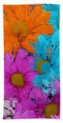 All The Flower Petals In This World 2 Beach Towel by Kume Bryant