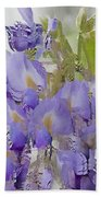 All The Flower Petals In This World 7 Beach Towel