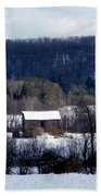 Allegany Winter Beach Towel