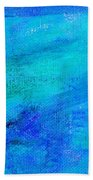 Allegory Blue Beach Towel