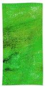 Allegory Emerald Green Beach Towel