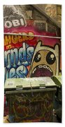 Alley Graffiti Beach Towel