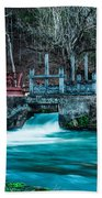 Alley Springs Mill Beach Towel