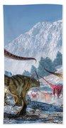Allosaurus Pack Beach Towel