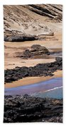 Almost Deserted Beach Towel