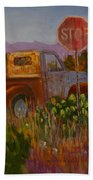 Almost Home - Art By Bill Tomsa Beach Towel