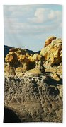 Almost Moonscape Beach Towel