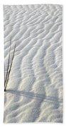 Alone In A Sea Of White Beach Towel