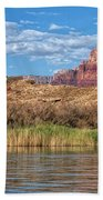 Along The Colorado River Beach Towel