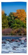 Along The Creek Beach Towel