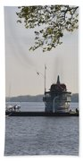 Along The Delaware River In New Jersey Beach Towel