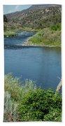 Along The Rio Grande River Beach Towel