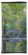 Along The Wissahickon In October Beach Towel