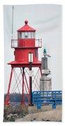 Alpena Lighthouse Beach Towel