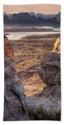 Alstrom Point  Beach Towel
